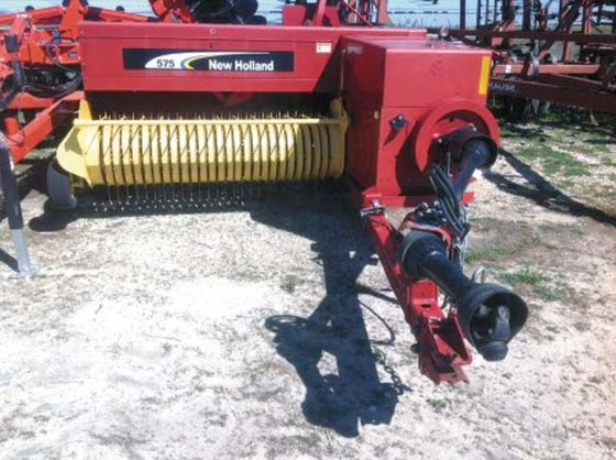 2008 New Holland 575 in