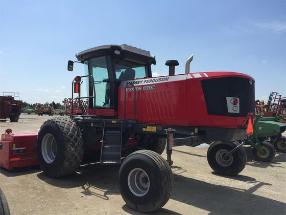 2014 Massey-Ferguson WR9770 in Chickasha,