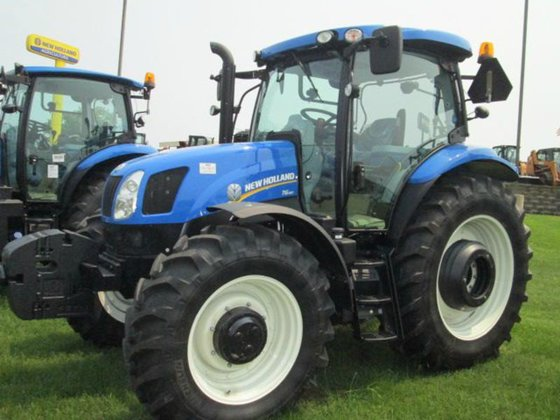 2015 New Holland T6.160 in
