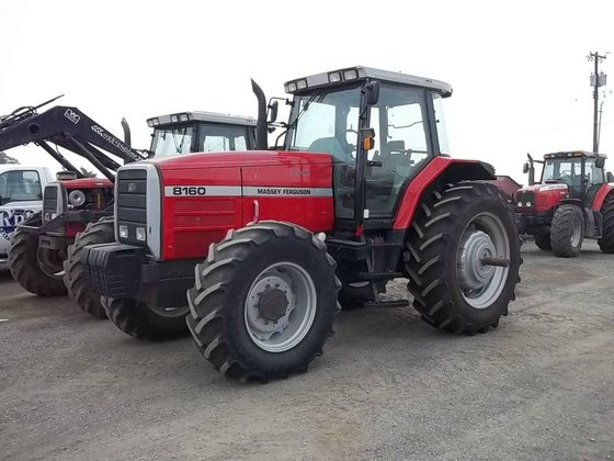 1996 Massey-Ferguson 8160 in Lewiston,