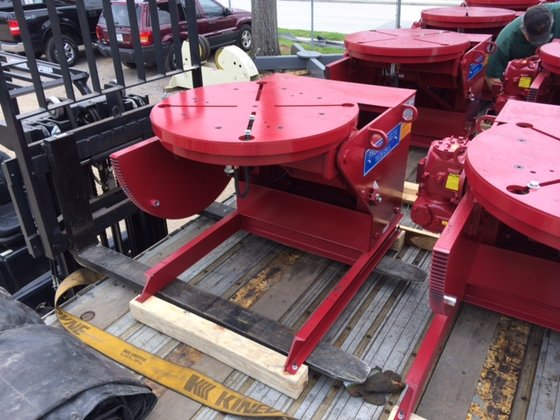 3,000 LB. WELDING POSITIONER **PRESTON-EASTIN