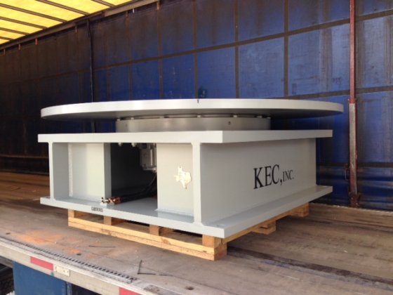 120,000 LB. WELDING FLOOR TURNTABLE;