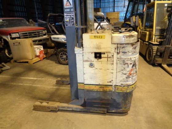 FORKLIFT STACKER STOCK PICKER ELECTRIC LIFT TRUCK GOOD BATTERY WORKS GOOD  in Sterling, CO, USA
