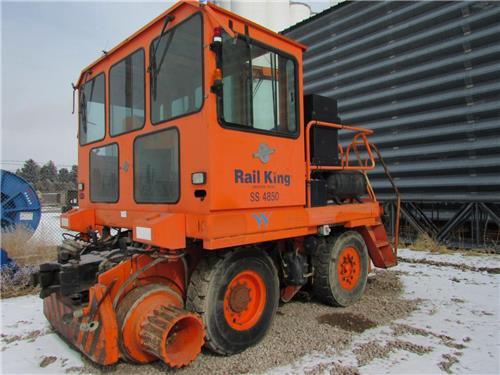 RAIL KING SS-4850 RAILROAD RAIL CAR MOVER JUST
