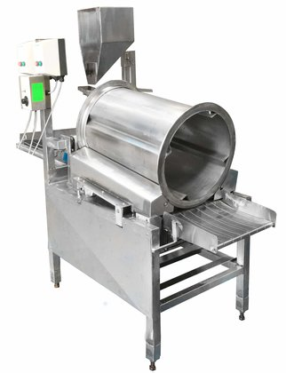 AUSMADE Small Coating/Flavouring Drum with