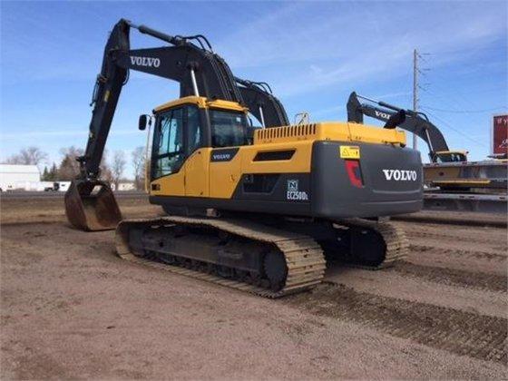 2013 Volvo EC250DL Crawler Excavator