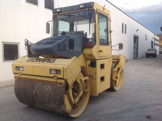 2001 Bomag BW184AD Twin drum