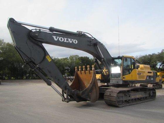 2012 Volvo EC480DL Crawler Excavator