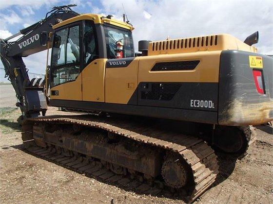 2012 Volvo EC300DL Crawler Excavator