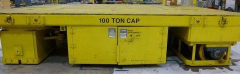 PHILLIPS 100 TON TRANSFER CART,