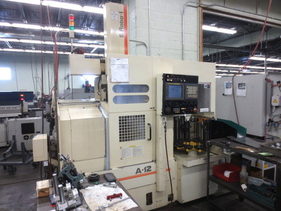 1998 WASINO A-12, FANUC 21iT