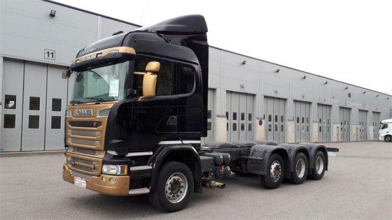 2015 Scania R730 8x4 / 4 Start in Seinäjoki, Finland