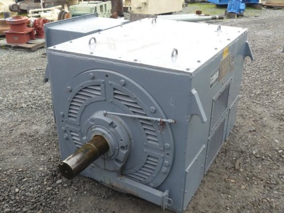 Toshiba 1250 Hp 919 Kw Induction Motor In Oroville Ca Usa