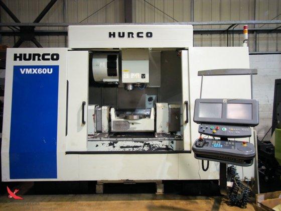 2011 Hurco VMX60U in Leicester, United Kingdom