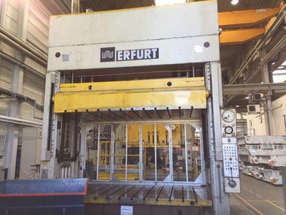 Usata Pi041 Pressa Idraulica Erfurt Prova Stampi 100 Ton In