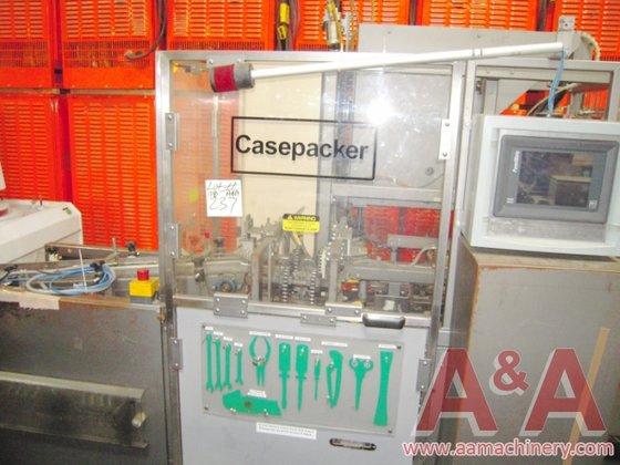 Schneider HCP-3VIP Casepacker with Nordson