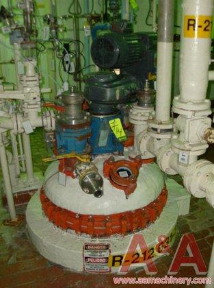 1979 DeDietrich Glass Lined Reactor,