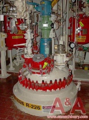 1990 DeDietrich Glass Lined Reactor,