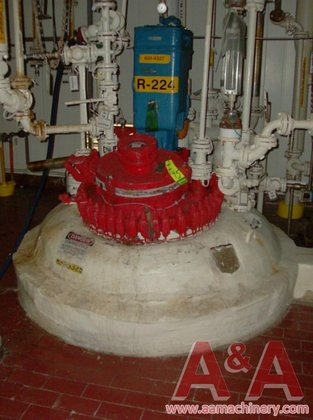 1991 DeDietrich Glass Lined Reactor,