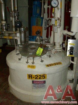 Stainless Steel Reactor, 300 Gallon
