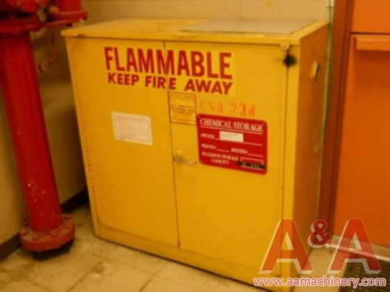 SeCurAll FLAMMABLE STORAGE CABINET 30