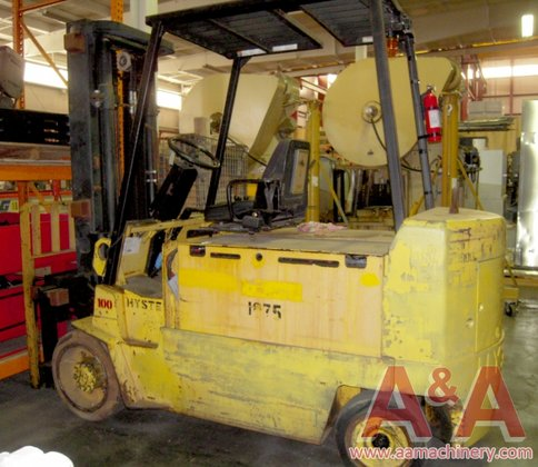 1994 Hyster 10,000Lb Electric Forklift