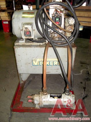 VICKERS HYDRAULIC CORE PULLER in