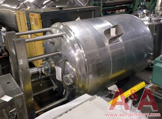 Crepaco Stainless Steel Jacketed Mix