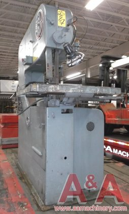 DoAll Vertical Band Saw in