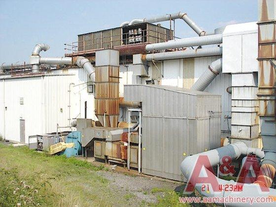 Geoenergy Catalytic Oxidizer, Pillar Oxidizer