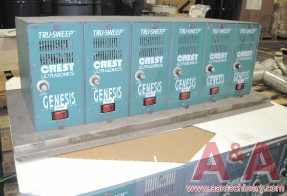 (6) Crest Ultrasonic Generators in