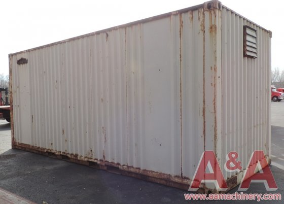 20' York Overseas Container, Storage