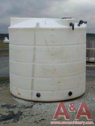 6,000 Gallon Vertical Polyethylene Tank