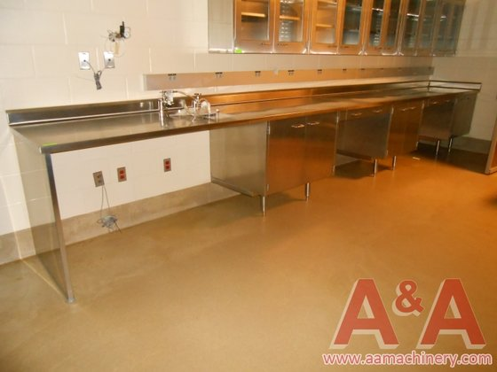 Stainless Steel Laboratory Desk with
