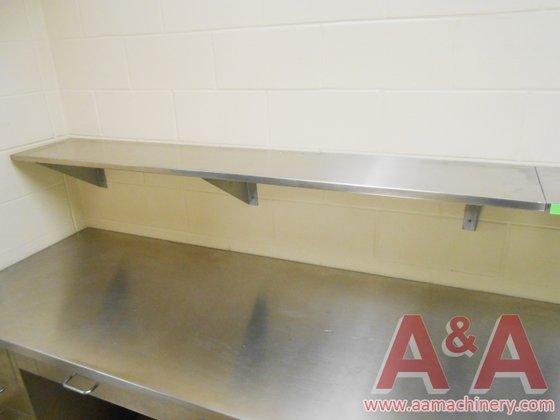 Stainless Steel Shelf, 147 In