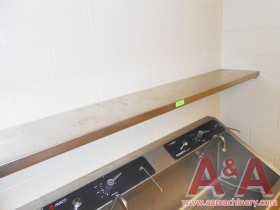 Stainless Steel Shelf, 80 In