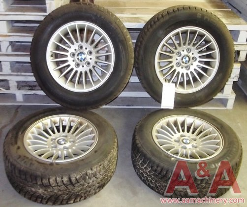 1992 BMW Rims and Tires