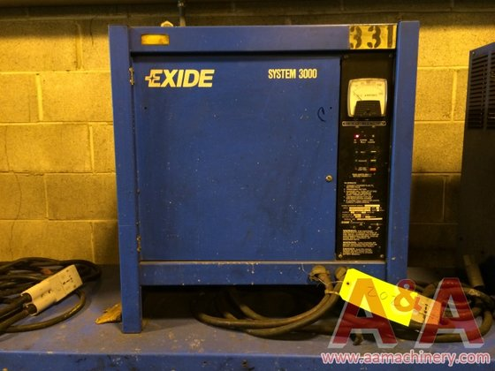 Exide System 3000 Battery Charger,