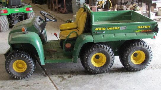 1997 John Deere 6X4 in