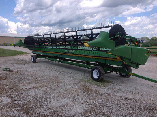 2012 John Deere 640FD in