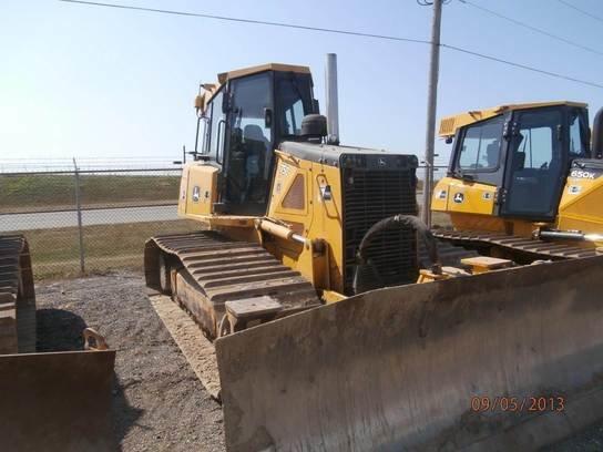2008 John Deere 750J in