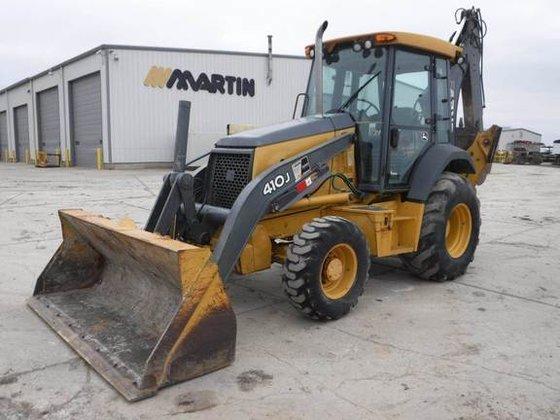 2009 John Deere 410J in
