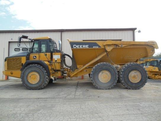 2013 John Deere 410E in