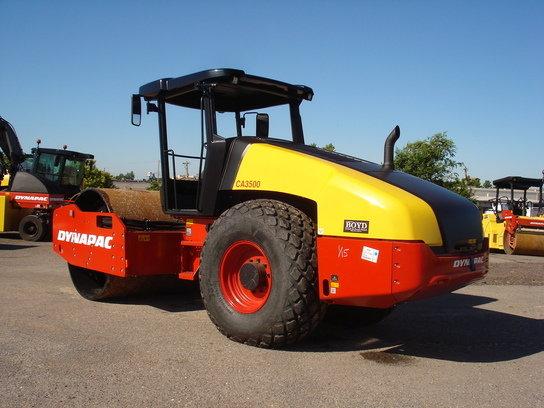 2014 Dynapac CA3500D in Oklahoma