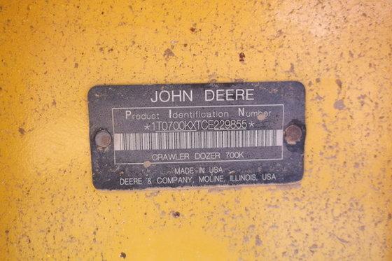 2012 John Deere 700K in