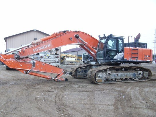 2011 Hitachi Z470 in Goodfield,