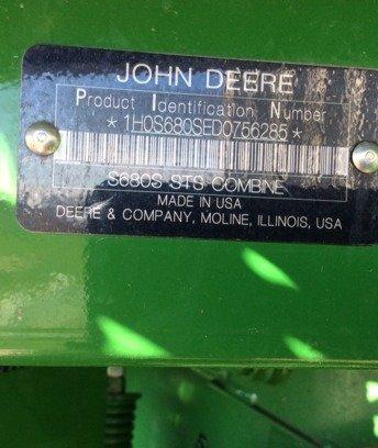 2012 John Deere S680 in