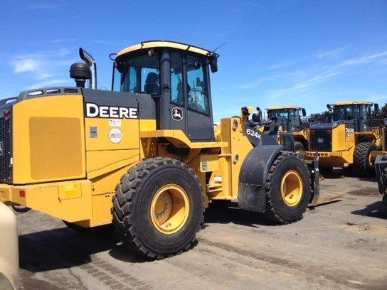 2012 John Deere 624K in