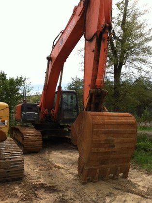 2007 Hitachi ZX350LC-3 in South