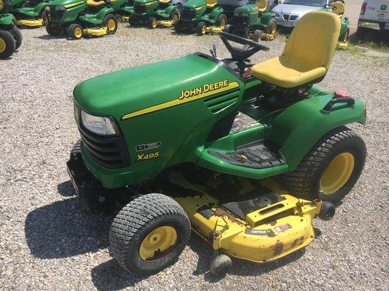 2003 John Deere X495 in